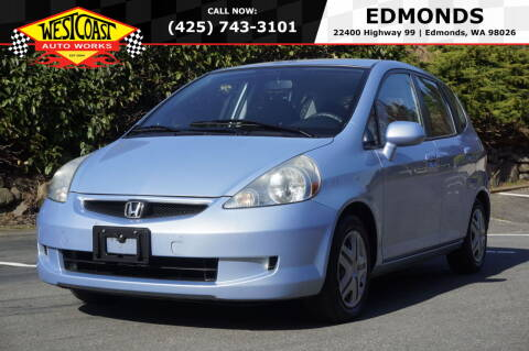2008 Honda Fit for sale at West Coast Auto Works in Edmonds WA