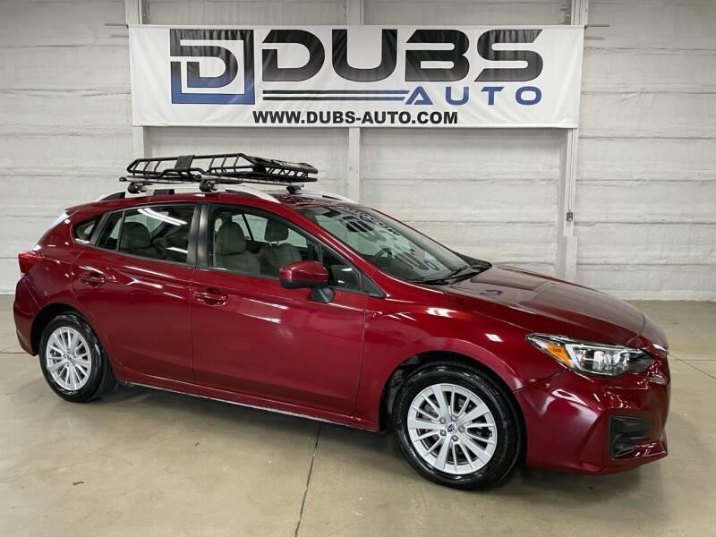 2017 Subaru Impreza for sale at DUBS AUTO LLC in Clearfield UT