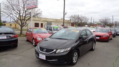 2013 Honda Civic for sale at RVA MOTORS in Richmond VA