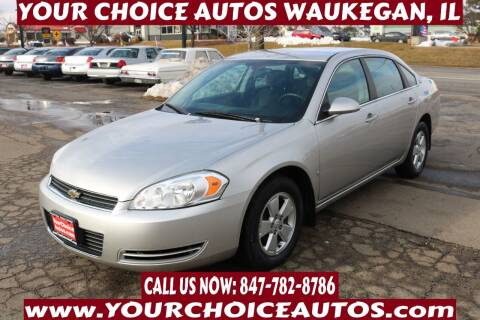 2008 Chevrolet Impala for sale at Your Choice Autos - Waukegan in Waukegan IL