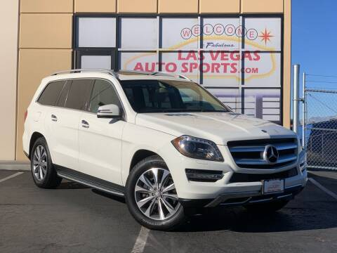 2013 Mercedes-Benz GL-Class for sale at Las Vegas Auto Sports in Las Vegas NV