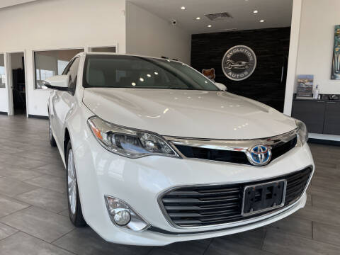 2015 Toyota Avalon Hybrid for sale at Evolution Autos in Whiteland IN