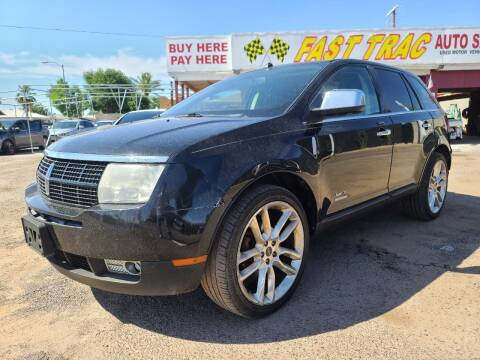 2010 Lincoln MKX for sale at Fast Trac Auto Sales in Phoenix AZ
