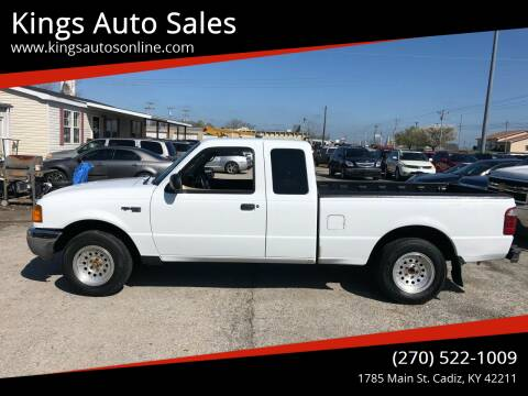 2003 Ford Ranger for sale at Kings Auto Sales in Cadiz KY