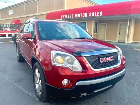 2011 GMC Acadia for sale at Payless Motor Sales LLC in Burlington NC