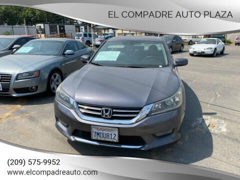 2015 Honda Accord for sale at El Compadre Auto Plaza in Modesto CA