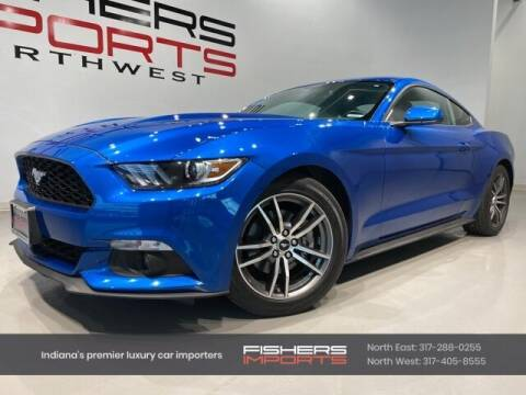 2017 Ford Mustang for sale at Fishers Imports in Fishers IN