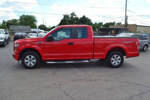 2016 Ford F-150 for sale at Daileys Used Cars in Indianapolis IN