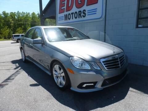 2011 Mercedes-Benz E-Class for sale at Edge Motors in Mooresville NC
