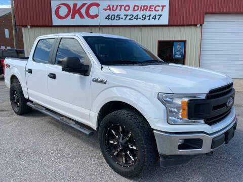2018 Ford F-150 for sale at OKC Auto Direct in Oklahoma City OK