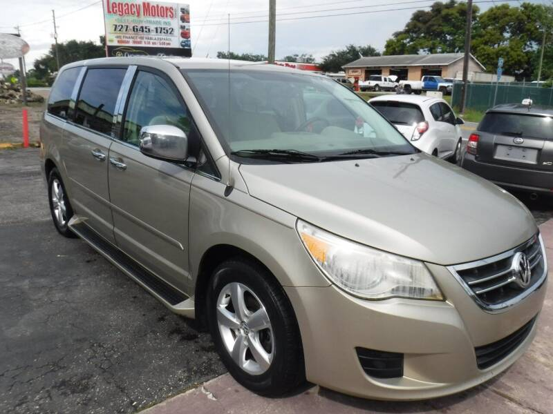 2009 Volkswagen Routan for sale at LEGACY MOTORS INC in New Port Richey FL