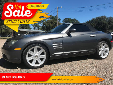 2005 Chrysler Crossfire for sale at #1 Auto Liquidators in Yulee FL