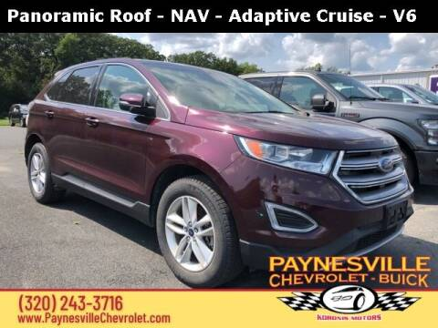 2018 Ford Edge for sale at Paynesville Chevrolet Buick in Paynesville MN