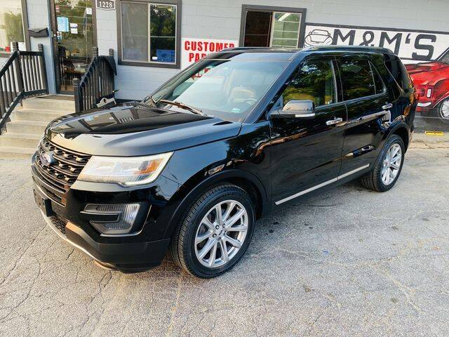 2017 Ford Explorer for sale at M&M's Auto Sales & Detail in Kansas City KS