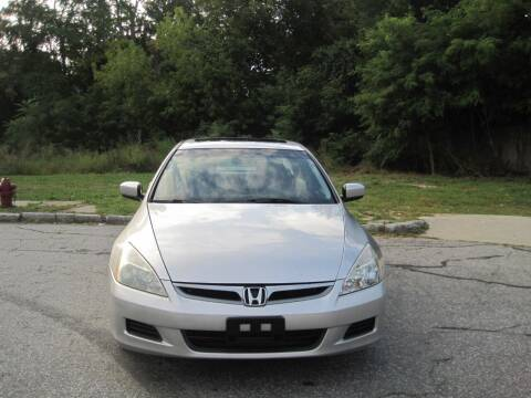 2007 Honda Accord for sale at EBN Auto Sales in Lowell MA