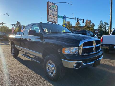 2004 Dodge Ram Pickup 3500 for sale at SIERRA AUTO LLC in Salem OR