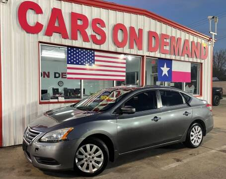 2015 Nissan Sentra for sale at Cars On Demand 3 in Pasadena TX
