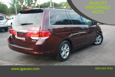 2010 Honda Odyssey for sale at QUALITY PREOWNED AUTO in Houston TX