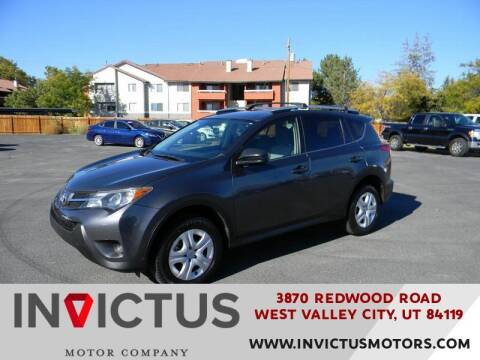 2015 Toyota RAV4 for sale at INVICTUS MOTOR COMPANY in West Valley City UT