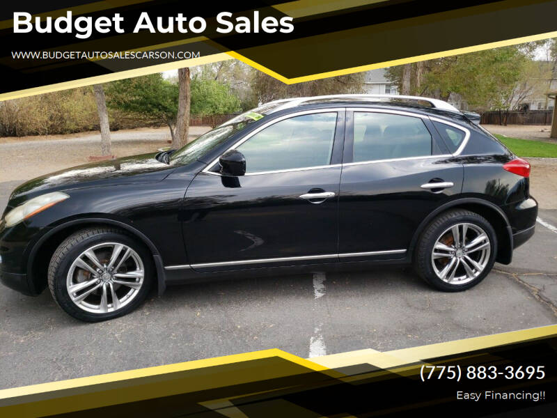 2011 Infiniti EX35 for sale at Budget Auto Sales in Carson City NV