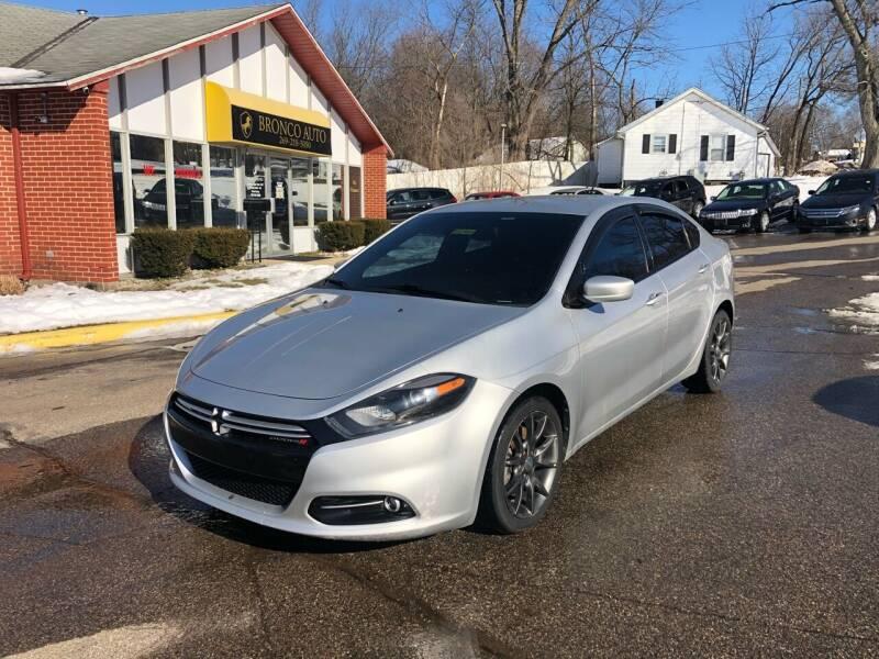 2013 Dodge Dart for sale at Bronco Auto in Kalamazoo MI
