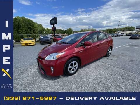 2015 Toyota Prius for sale at Impex Auto Sales in Greensboro NC