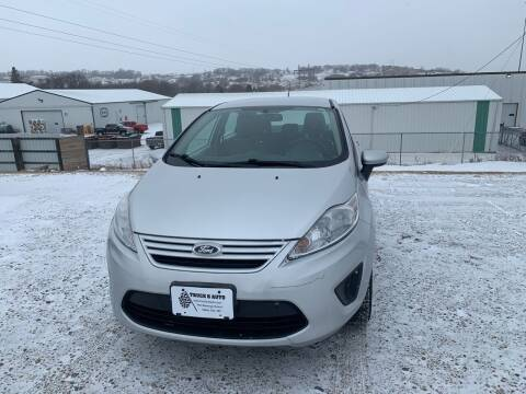 2012 Ford Fiesta for sale at TRUCK & AUTO SALVAGE in Valley City ND
