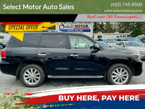 2009 Lexus LX 570 for sale at Select Motor Auto Sales in Lynnwood WA