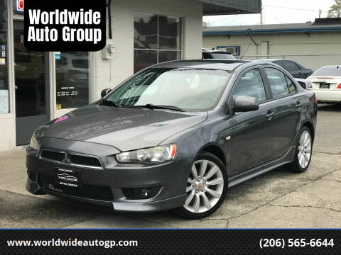 2008 Mitsubishi Lancer for sale at Worldwide Auto Group in Auburn WA