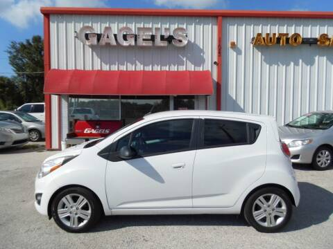 2014 Chevrolet Spark for sale at Gagel's Auto Sales in Gibsonton FL