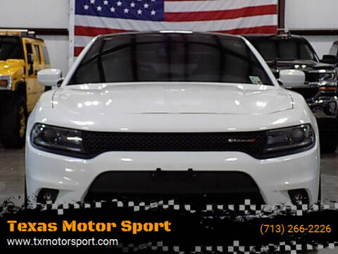 2018 Dodge Charger for sale at Texas Motor Sport in Houston TX