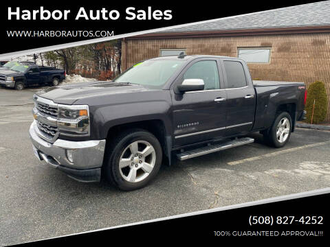 2016 Chevrolet Silverado 1500 for sale at Harbor Auto Sales in Hyannis MA