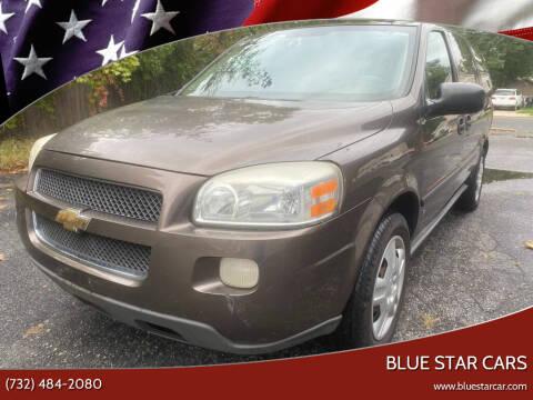 2008 Chevrolet Uplander for sale at Blue Star Cars in Jamesburg NJ