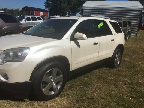 2011 GMC Acadia for sale at Mountain View Auto Sales in Easley SC
