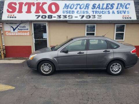 2010 Ford Focus for sale at SITKO MOTOR SALES INC in Cedar Lake IN