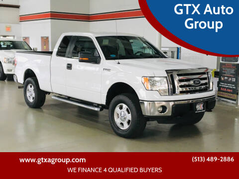 2012 Ford F-150 for sale at GTX Auto Group in West Chester OH