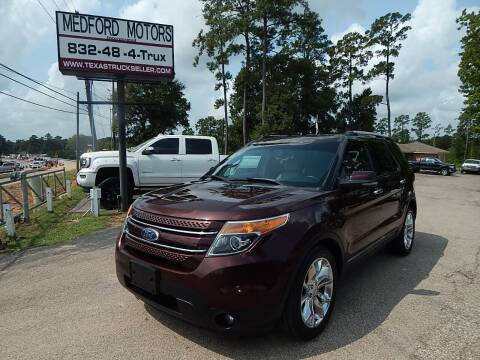 2012 Ford Explorer for sale at Medford Motors Inc. in Magnolia TX