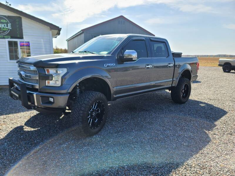 2016 Ford F-150 for sale at Shinkles Auto Sales & Garage in Spencer WI