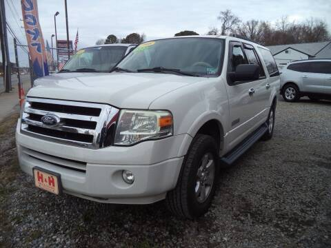 2008 Ford Expedition EL for sale at H and H Truck Center in Newport News VA