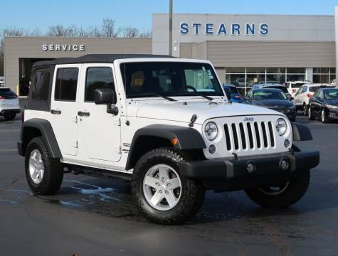 2015 Jeep Wrangler Unlimited for sale at Stearns Ford in Burlington NC