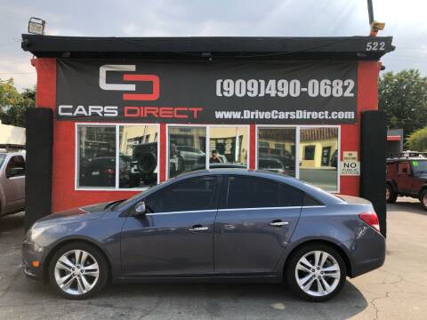 2013 Chevrolet Cruze for sale at Cars Direct in Ontario CA