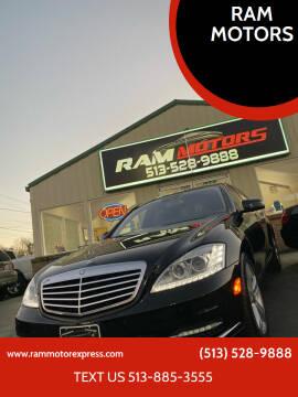 2010 Mercedes-Benz S-Class for sale at RAM MOTORS in Cincinnati OH