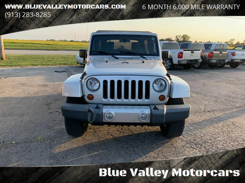 2010 Jeep Wrangler Unlimited 4x4 Sahara 4dr SUV - Stilwell KS