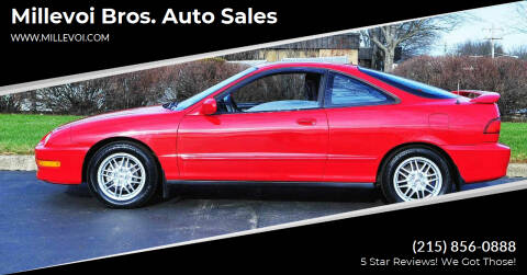 1999 Acura Integra for sale at Millevoi Bros. Auto Sales in Philadelphia PA
