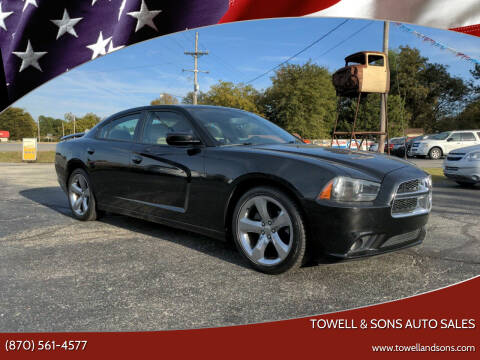2014 Dodge Charger for sale at Towell & Sons Auto Sales in Manila AR