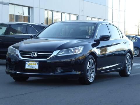 2015 Honda Accord for sale at Loudoun Motor Cars in Chantilly VA