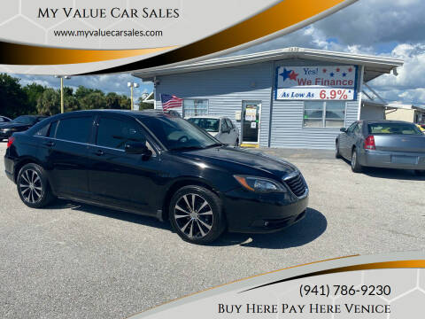 2011 Chrysler 200 for sale at My Value Car Sales in Venice FL