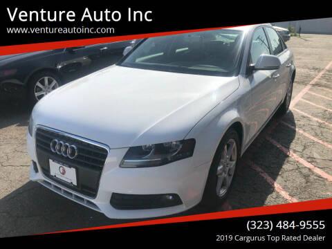2009 Audi A4 for sale at Venture Auto Inc in South Gate CA