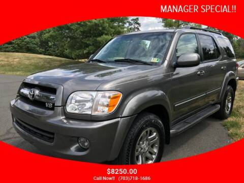 2006 Toyota Sequoia for sale at SEIZED LUXURY VEHICLES LLC in Sterling VA