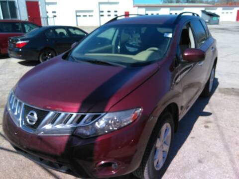 2009 Nissan Murano for sale at Sarpy County Motors in Springfield NE
